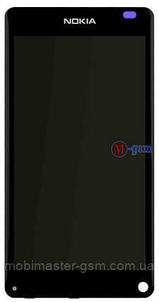 Дисплейный модуль Nokia N9 черный, фото 2