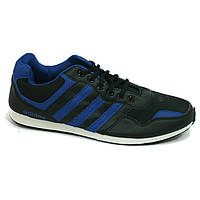Кроссовки мужские черно-синие