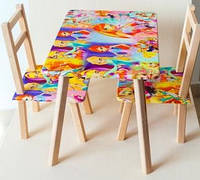 """Столик 60*46см + 2 стула """"Винкс"""""""