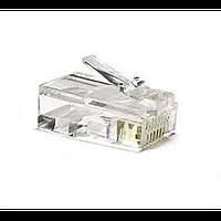 Набор коннекторов для витой пары atcom rj45 8p8c connectors за пакет 100 шт (3796)