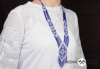 Герданы из бисера, женские герданы, украшение из бисера