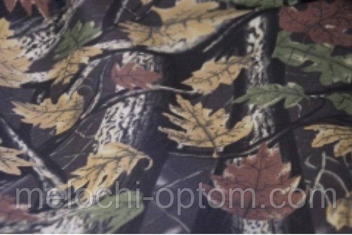 Хлопковая ткань Дубок (лето, лес) камуфляж