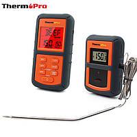 Термометр беспроводной (до 100 м) ThermoPro TP-07 (0-300 °С). Прорезиненный корпус