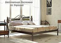 Кровать металлическая Адель двуспальная