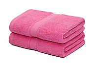 Полотенце. 50*100  розовый