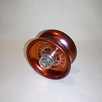 Йо-йо красное, алюминиевое с подшипником