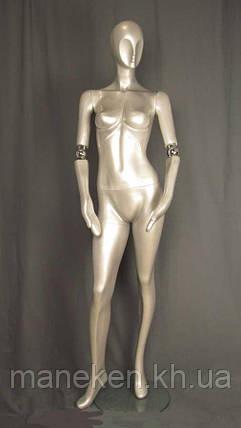 Манекен женский с подвижным шарниром руки J-10, фото 2