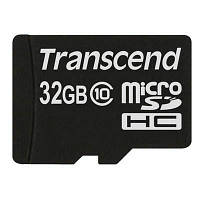 Карта памяти Transcend 32Gb microSDHC class 10 (TS32GUSDC10)
