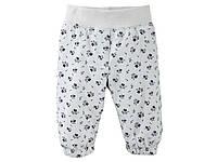 Детские теплые штаны на мальчика сток бренд Lupilu рост 74 2 3 года