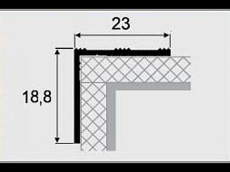 Порог алюминиевый 3-А