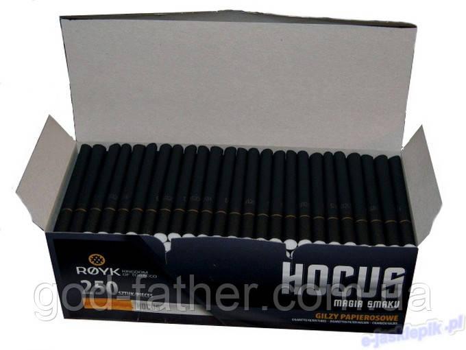 Сигаретные гильзы Чёрные с золотом! Очень круто выглядят. Гильзы сигаретные черные хокус 10000шт.