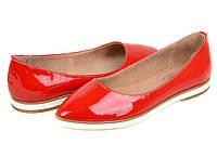 Туфли женские красные лаковые