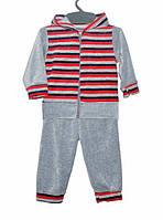 Костюм для хлопчика на 1-3 роки Зайчик червона смужка 4801bba19df4a