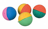 Набор мячиков Trixie Set of Soft Balls для кошек, 4 шт