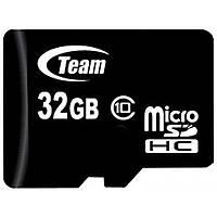 Карта памяти microSDHC Card  32Gb (Class 10) Team