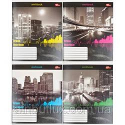 """Тетрадь цветная 96 листов, линия """"Urban Heartbeat"""""""