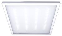 Светильник светодиодный LED-панель 4x10W 600x600х19 призматик 6500K накладной/встроенный монтаж