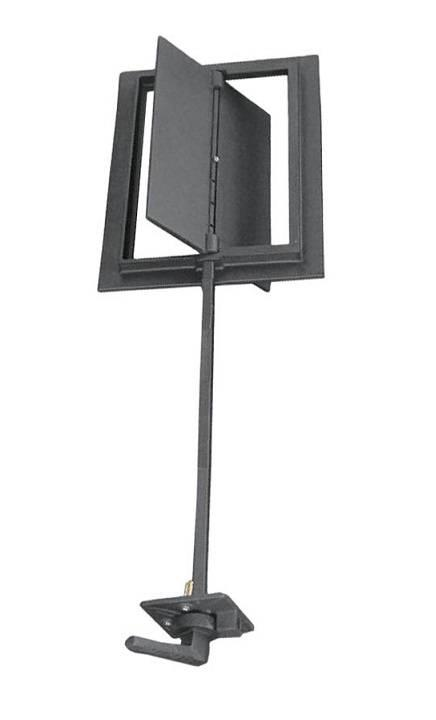 Шибер для дымохода с длинной рукояткой (41,5 х 33 см)