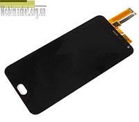 Модуль (сенсор + дисплей) для Meizu M2 Note чорний