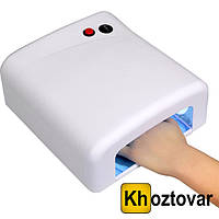 Ультрафиолетовая лампа с таймером UV Lamp 36 Watt JD 818 | Лампа для сушки ногтей