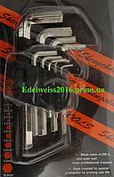 Набор шестигранных ключей 9 предметов (1,5-10 мм).