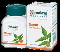 Ним Хималая ( Neem Himalaya ) 60 капсул Очищение крови, печени, кожи. Фурункулез, грибковые инфекции, прыщи.
