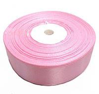 Лента атласная розовая 2.5см