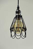 Люстра -підвіс LOFT WM-D1004 Чорний ST64 + Лампа, фото 1