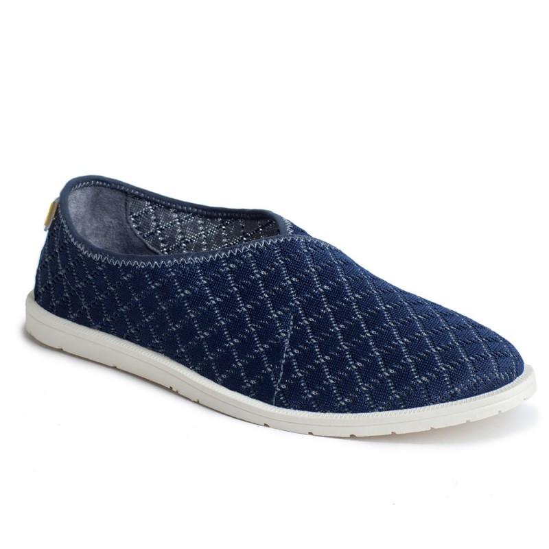 e99832a3bba284 Слипоны текстиль OLDCOM мужские Infinity темно-синие - Интернет - магазин