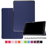 Кожаный чехол книжка для Asus Zenpad Z10 ZT500KL