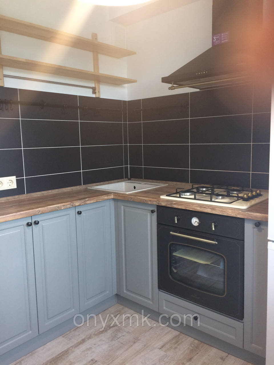 Кухня угловая в стиле Лофт