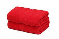 Полотенце. 50*100 красные