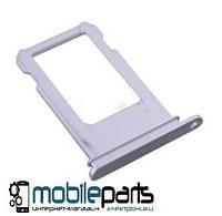 Оригинальный Сим-карт Холдер (sim holder silver) для Apple iPhone7 Plus (Серебрянный)