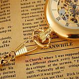 Часы карманные классика бронза, фото 3