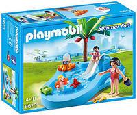 Детский бассейн с горкой Playmobil