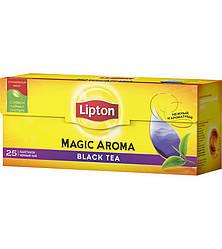 Чай Lipton Magic Aroma в пакетиках Черный 25 пакетиков
