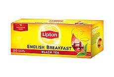 Чай Lipton English Breakfast в пакетиках Черный 25 пакетиков