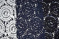 Ткань Ажур, арт. 2602, Круги фигурные, палитра