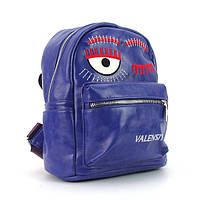 Рюкзак - сумка малая кожзам фиолетовая Valensiy 656-87, фото 1
