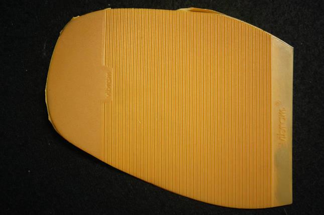 Подметка (Профилактика) резиновая VIBRAM  2336 рыж. мал., фото 2