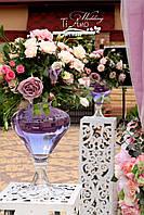 Металические ажурные свадебные стойки