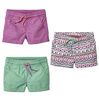 Шорты летние котоновые для девочек 2-6 лет Lupilu