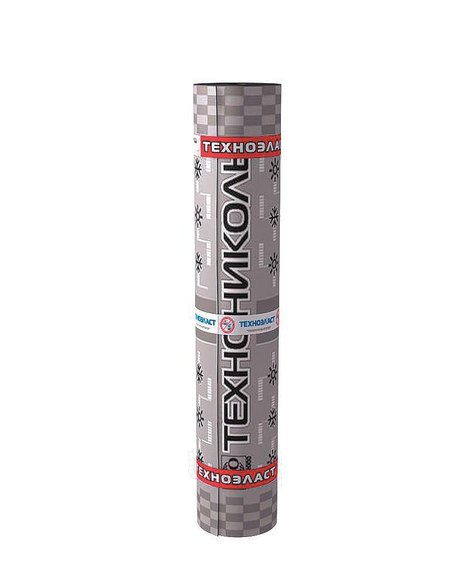 Рубероид Техноэласт ЭКП 4,2/5,4 сланец серый  Рулон 10 х 1 м  (10 кв.м)