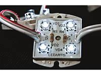 Светодиодные модули 4 светодиода герметичные
