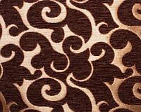 Мебельная ткань шенил FLORY BROWN( производитель  Bibtex)