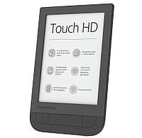 Электронная книга 6' PocketBOOK 631 Touch HD Black E Ink Carta 1448x1072, Wi-Fi-, microSD, 8Гб, подсветка