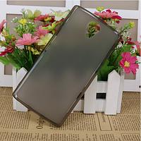 Силиконовый чехол для BQ Mobile BQS-5502 Hammer черный прозрачный