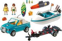Пикап с лодкой и серфом Playmobil 6864