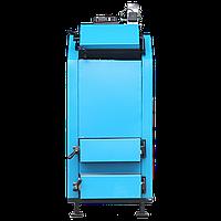 Стальной твердотопливный котел с автоматикой и вентилятором Termotechnik 30-35 кВт