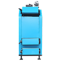 Стальной твердотопливный котел с автоматикой и вентилятором Termotechnik 40-45 кВт